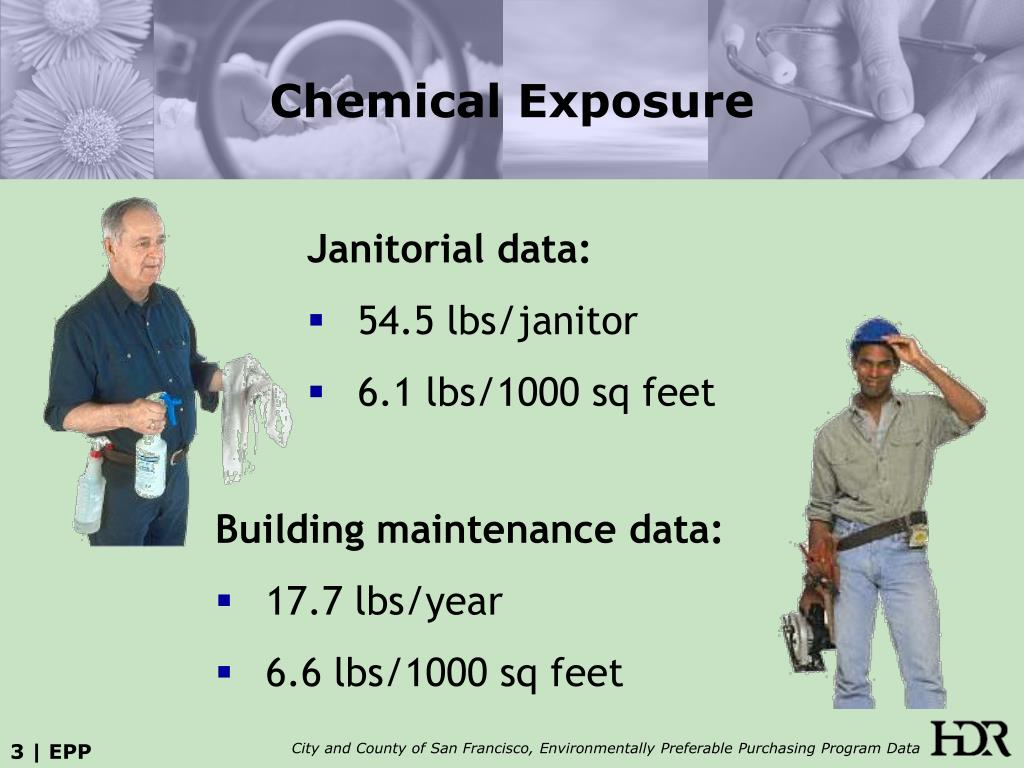 Janitorial data: