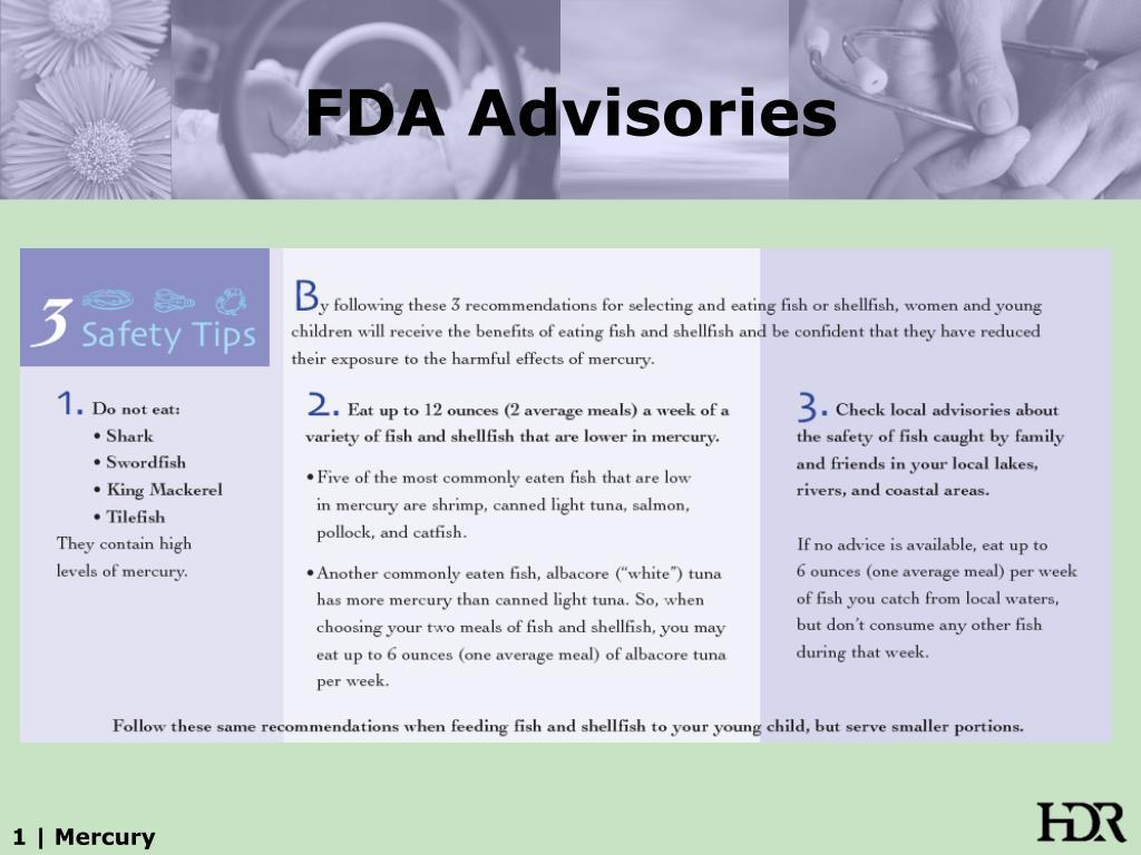 FDA Advisories