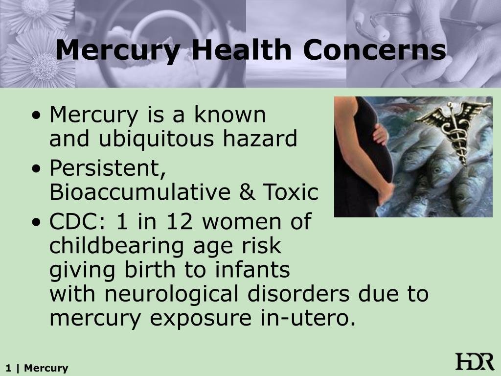 Mercury Health Concerns