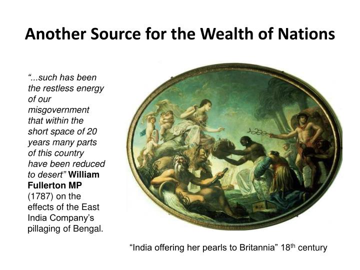 Another Source for the Wealth of Nations