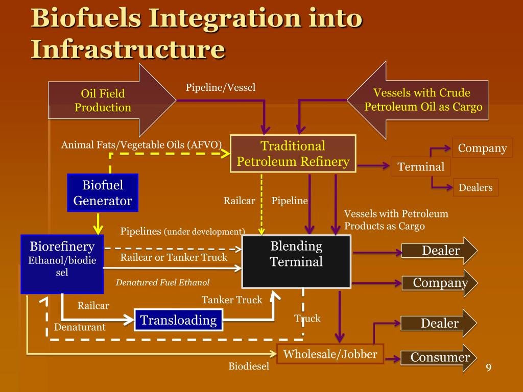 Biofuels Integration into Infrastructure