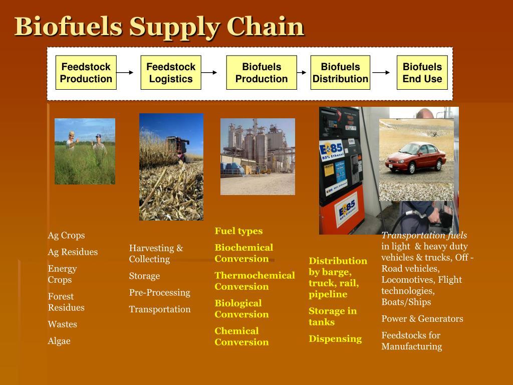 Biofuels Supply Chain