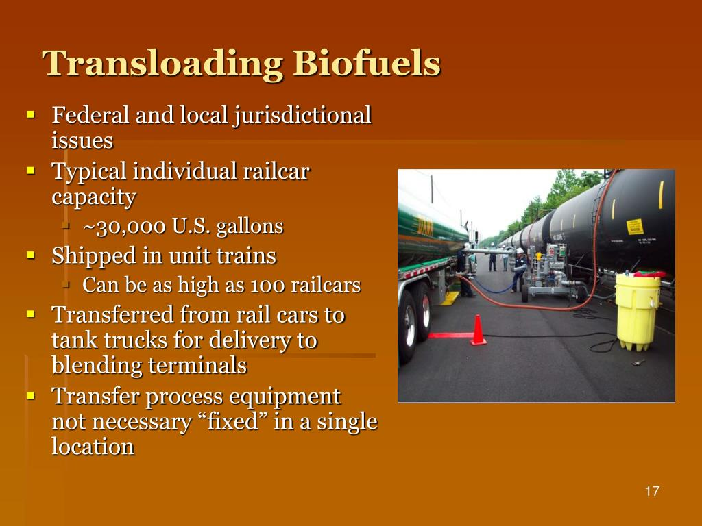 Transloading Biofuels