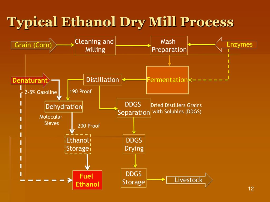 Typical Ethanol Dry Mill Process