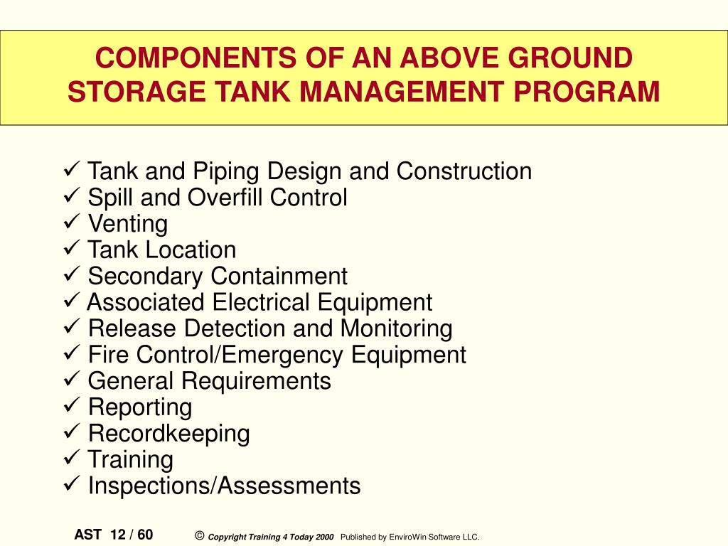 Tank and Piping Design and Construction