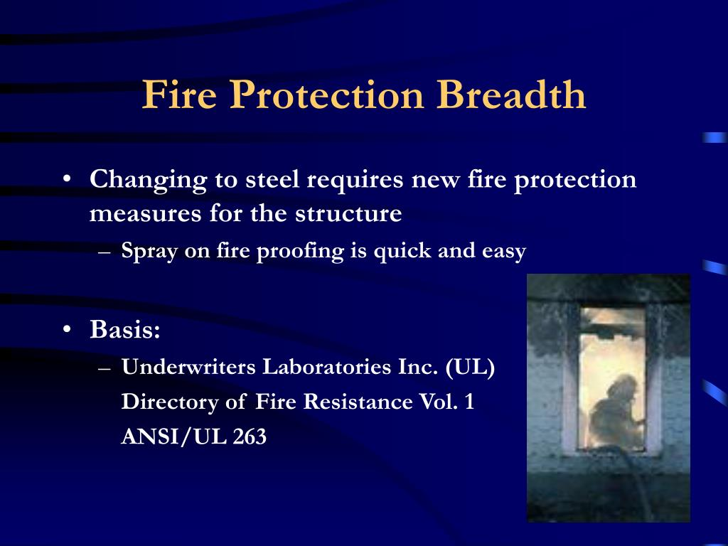 Fire Protection Breadth