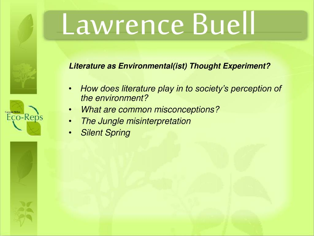 Lawrence Buell