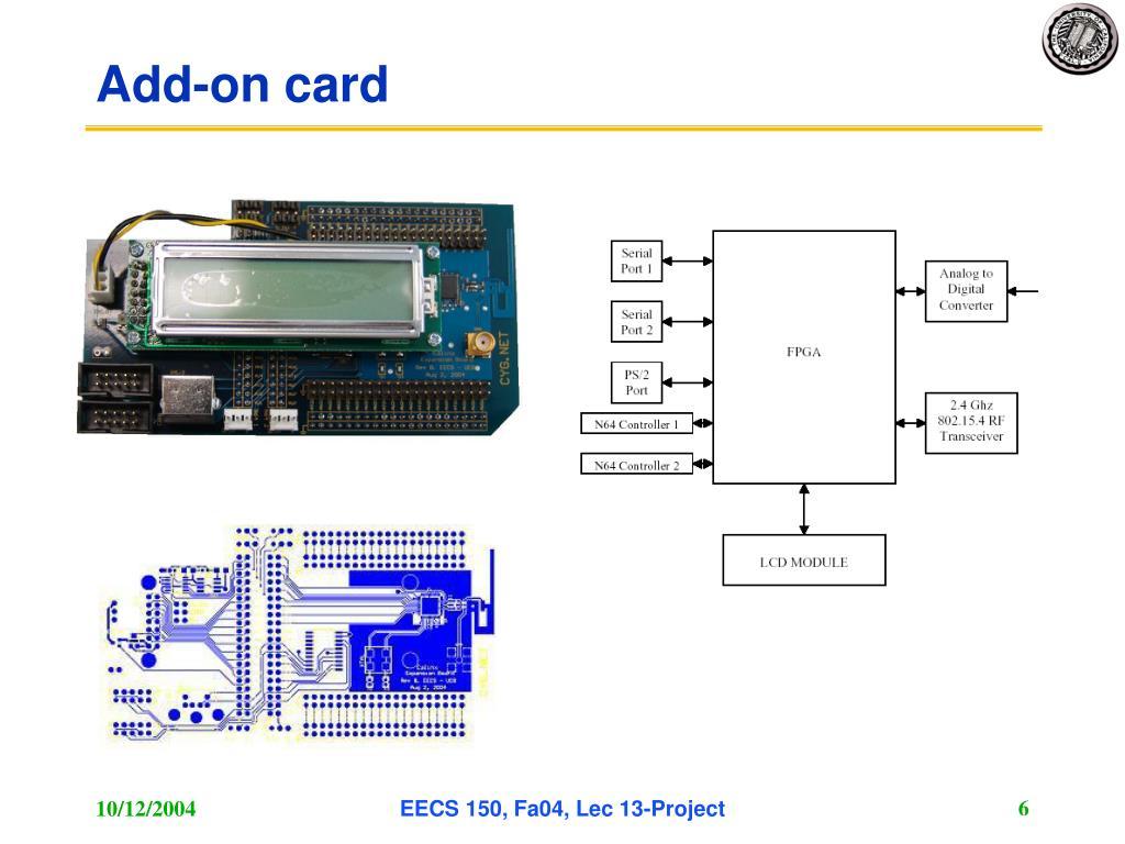 Add-on card