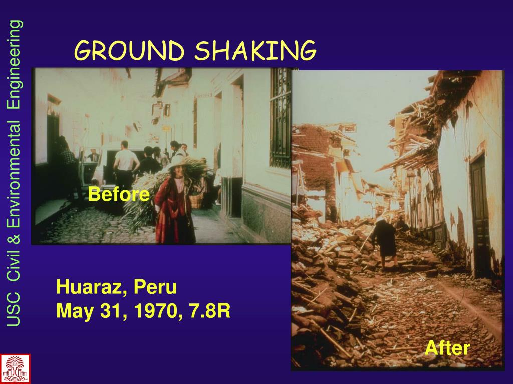GROUND SHAKING