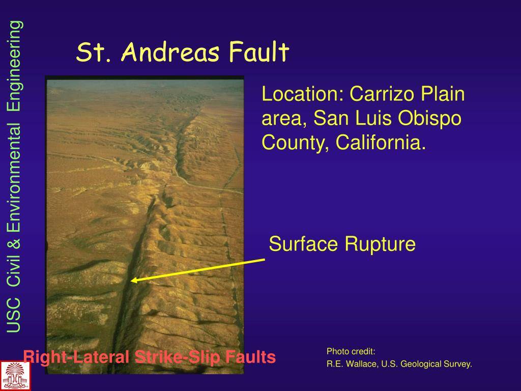 St. Andreas Fault