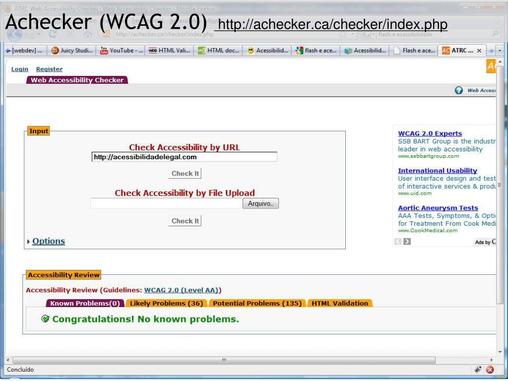 Functional Accessibility Evaluator 1.0