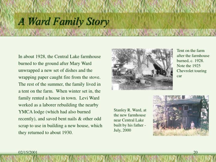 A Ward Family Story