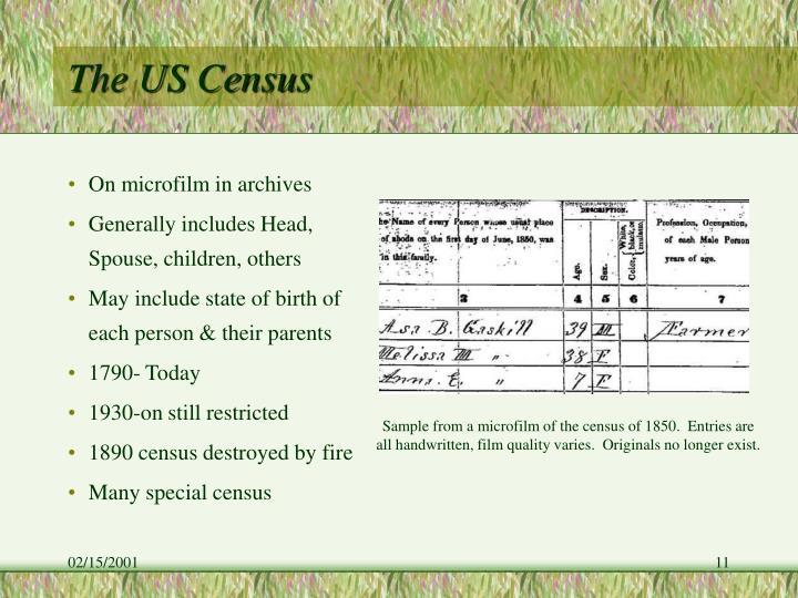 The US Census