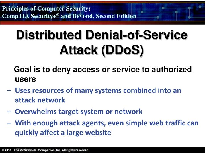 Distributed Denial-of-Service Attack (