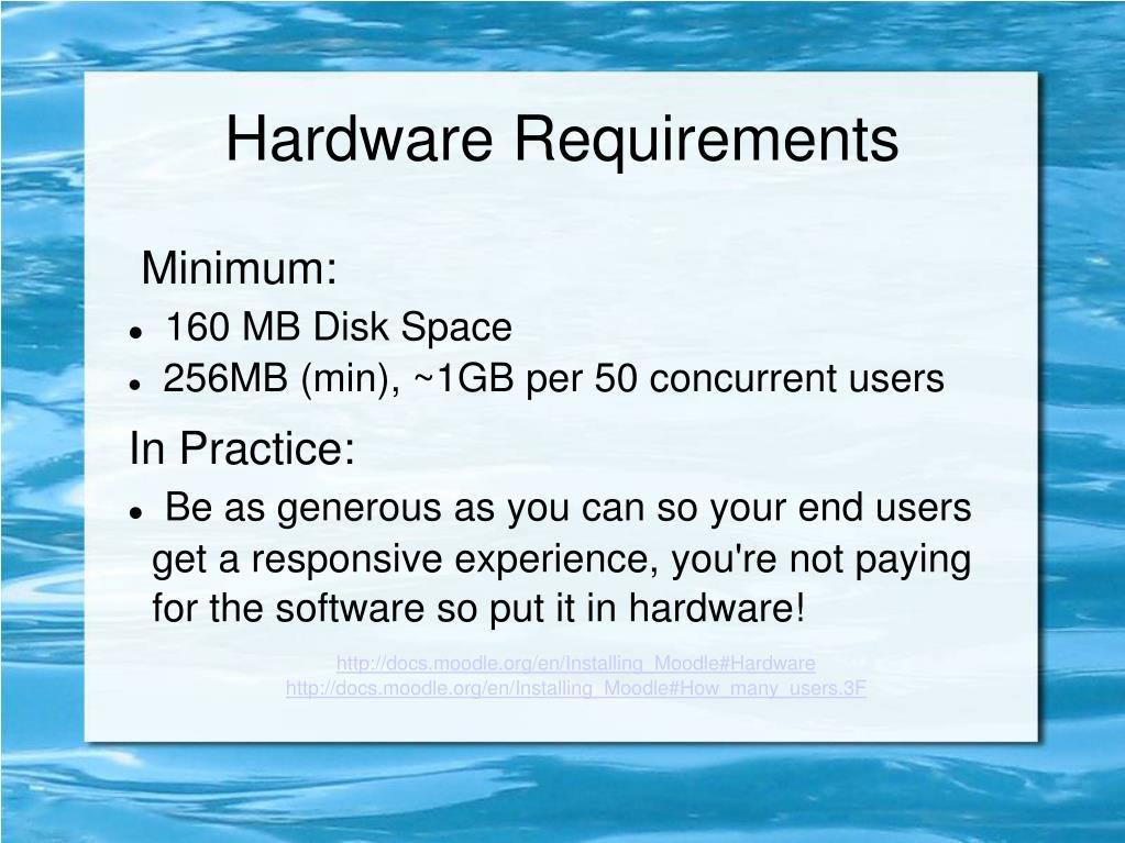 Minimum: