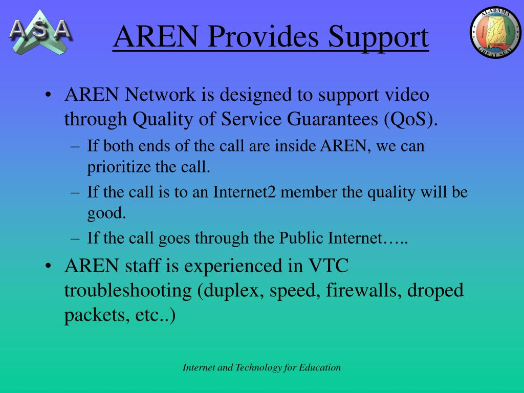 AREN Provides Support