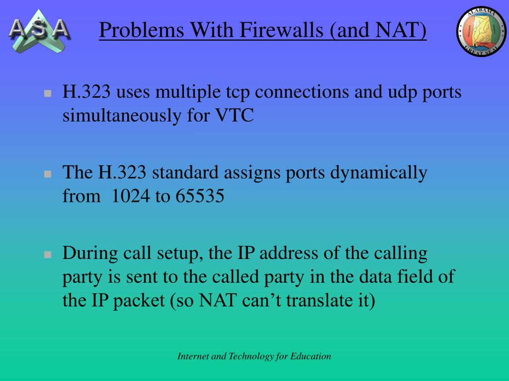 Problems With Firewalls (and NAT)