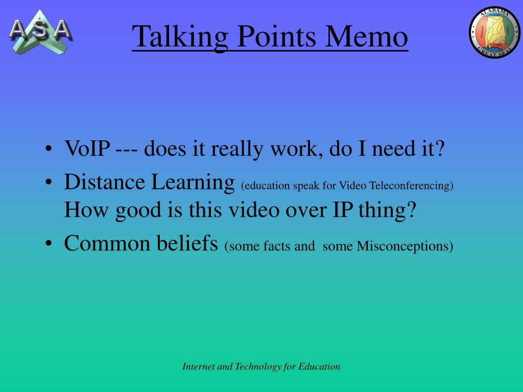 Talking Points Memo