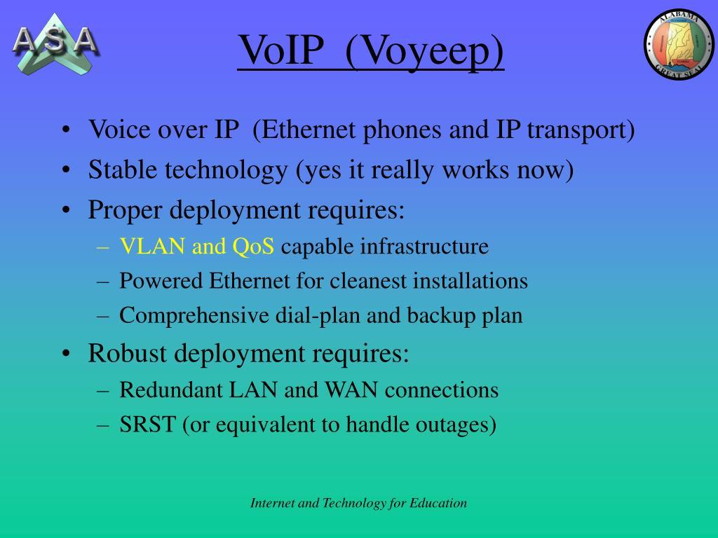VoIP  (Voyeep)