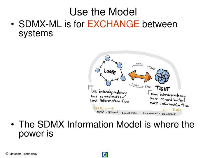 SDMX-ML is for