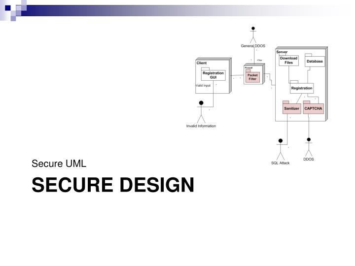 Secure UML
