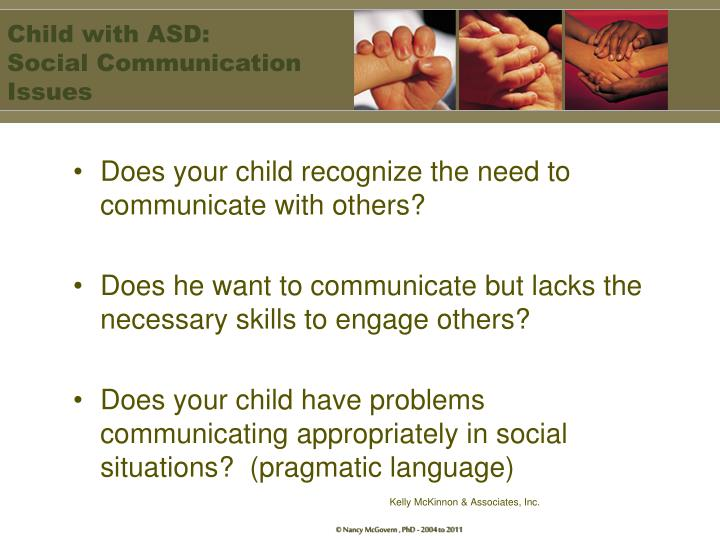 Child with ASD: