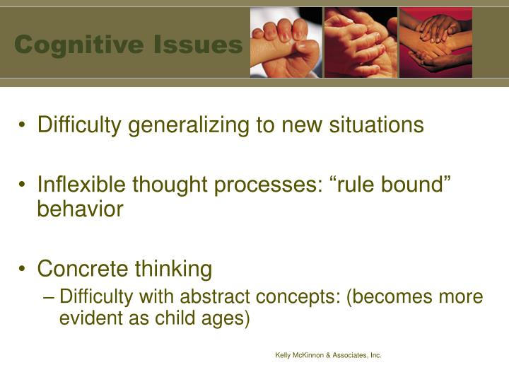 Cognitive Issues