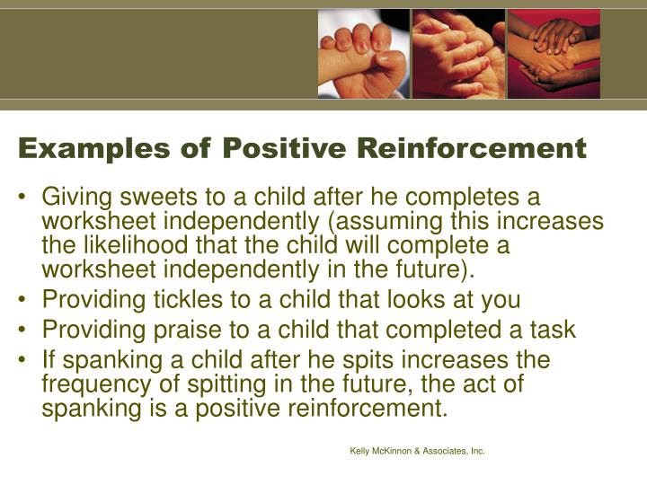 Examples of Positive Reinforcement