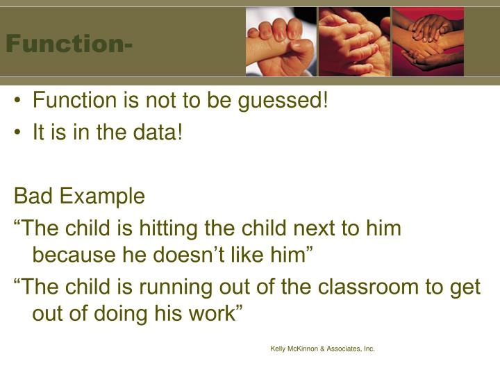 Function-