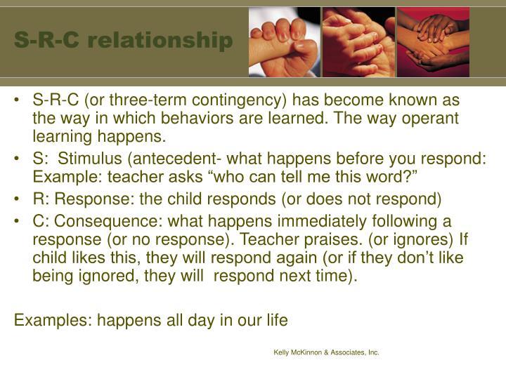 S-R-C relationship