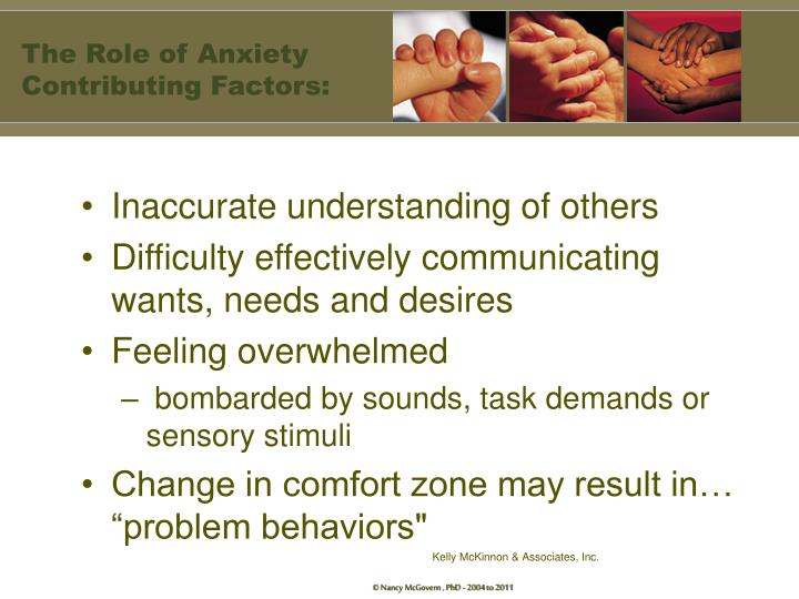 The Role of Anxiety