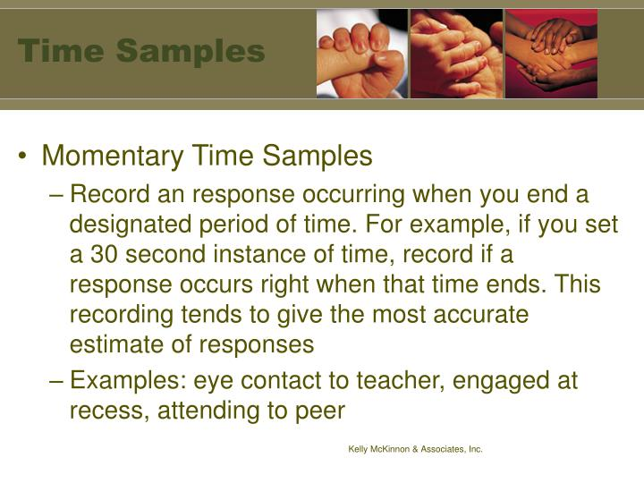 Time Samples