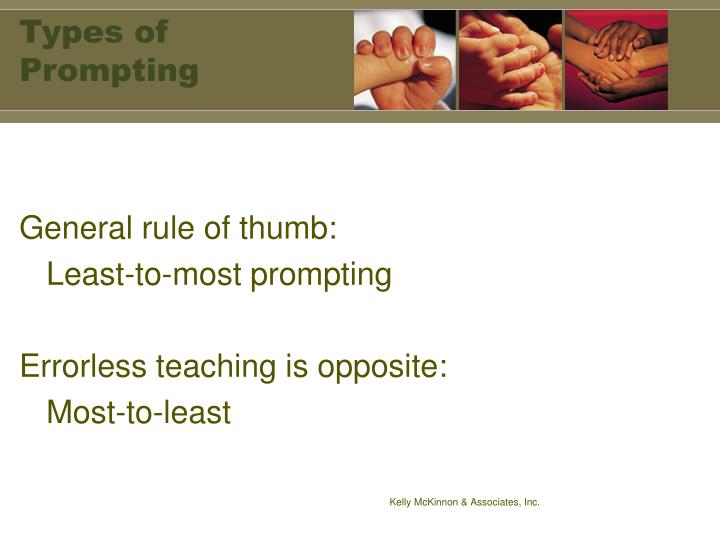 Types of Prompting