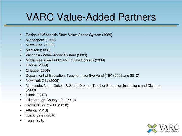 VARC Value-Added Partners