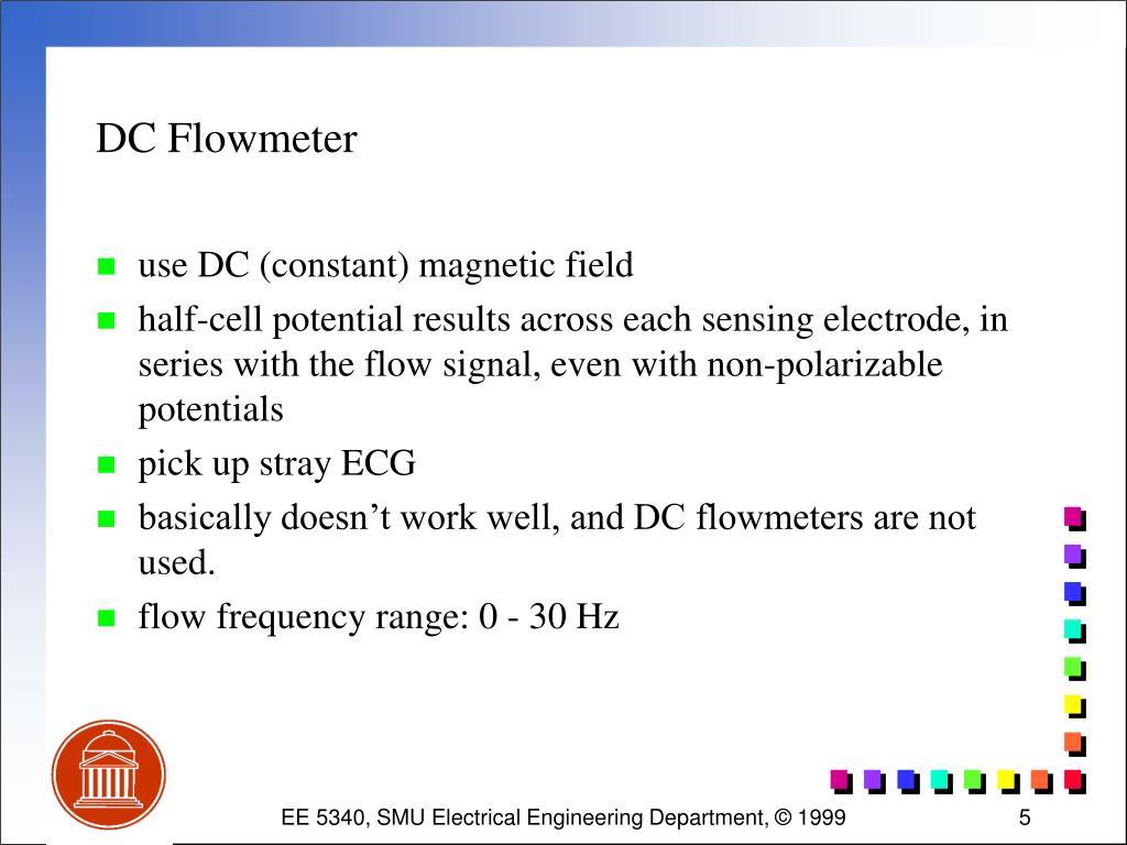 DC Flowmeter