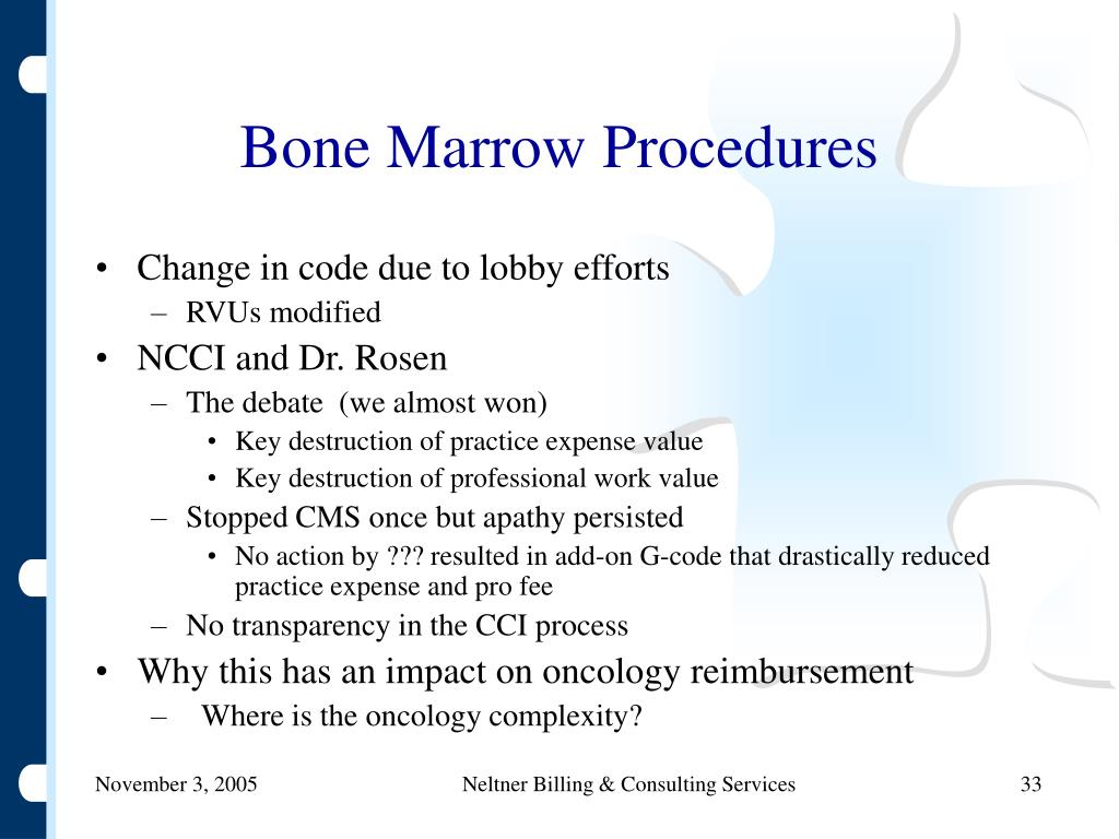Bone Marrow Procedures