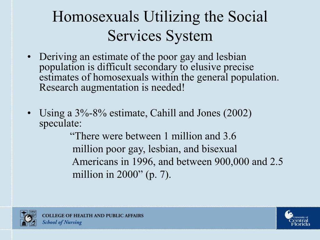 Homosexuals Utilizing the Social Services System