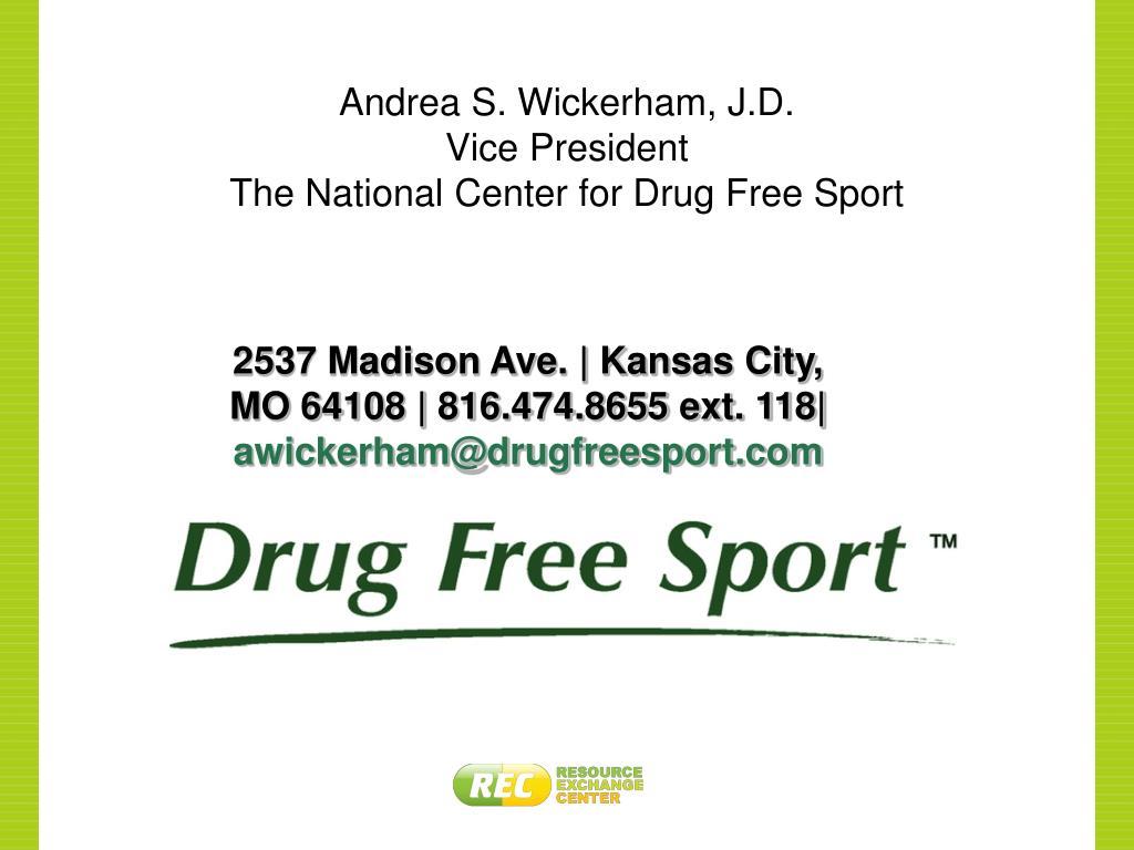 Andrea S. Wickerham, J.D.
