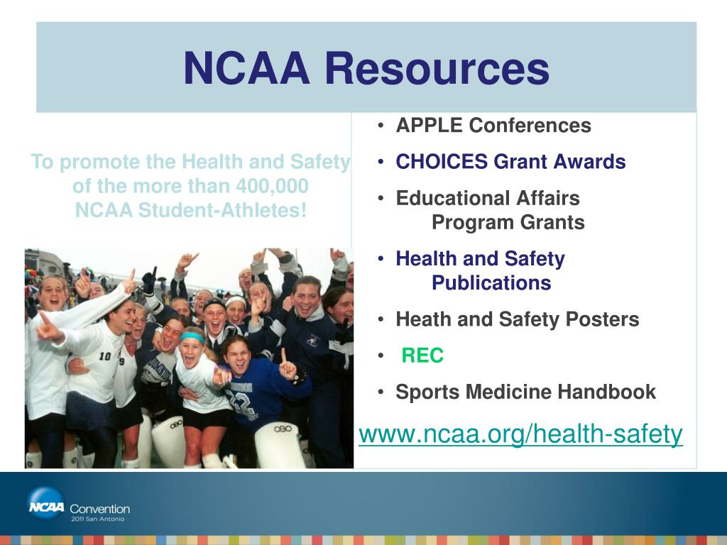 NCAA Resources