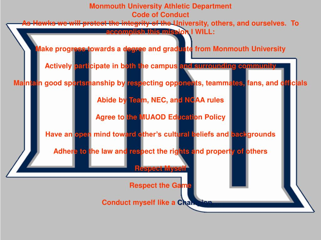 Monmouth University Athletic Department