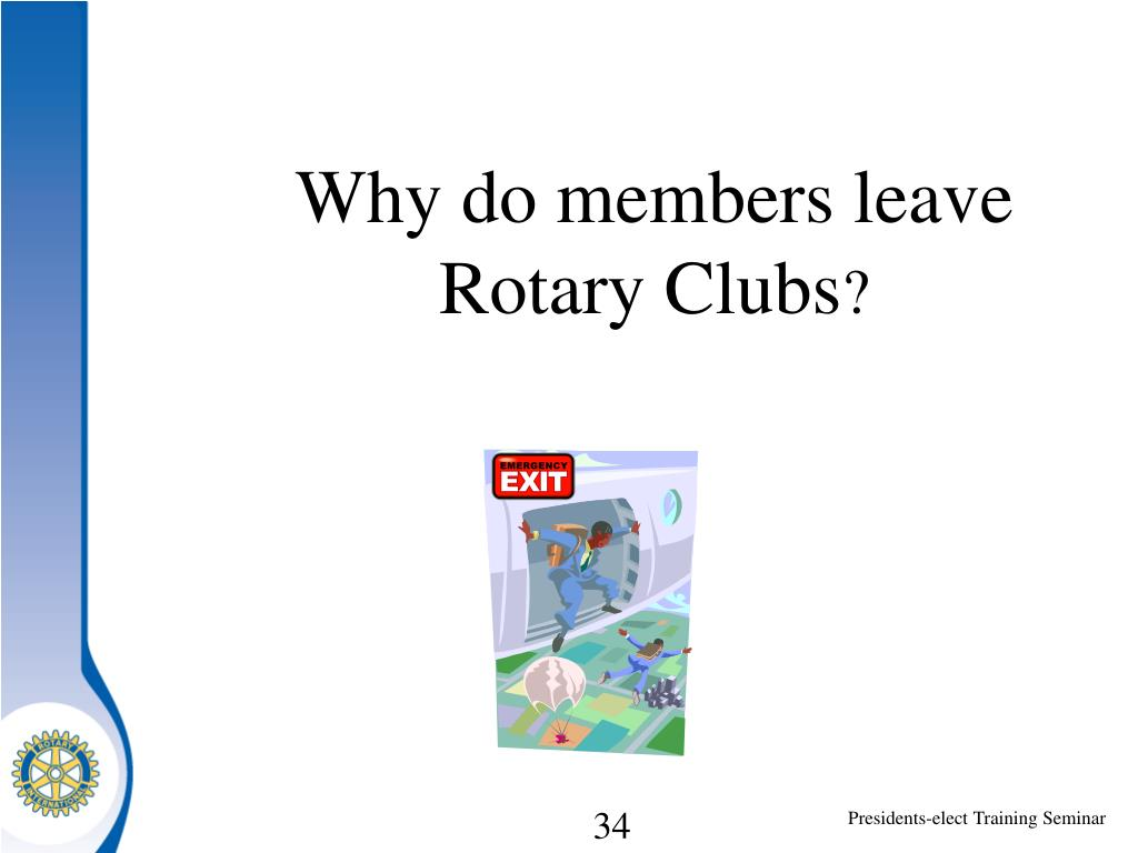 Why do members leave