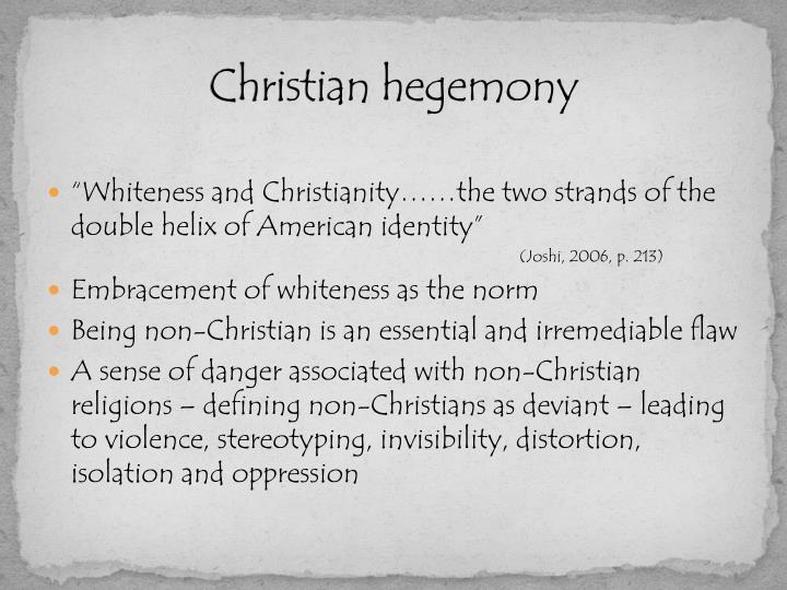 Christian hegemony