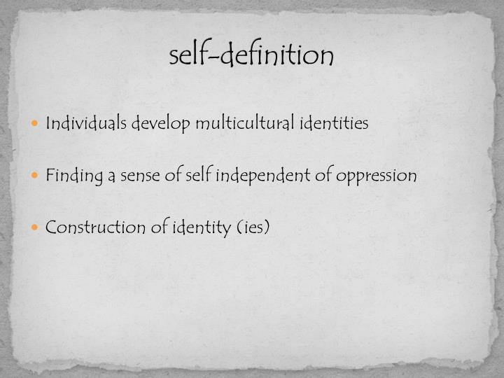 self-definition