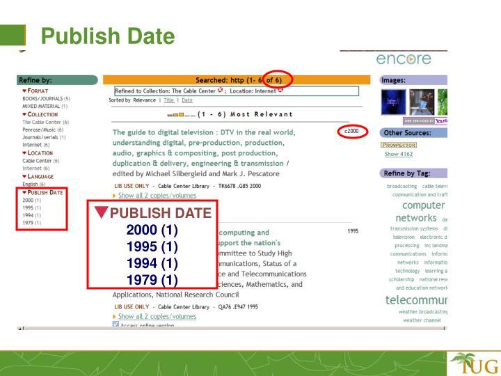 Publish Date