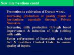 new interventions contd2