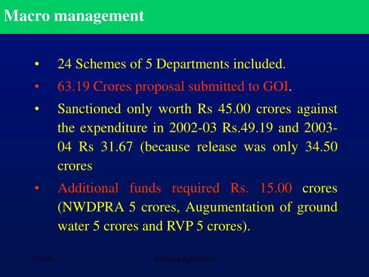 Macro management