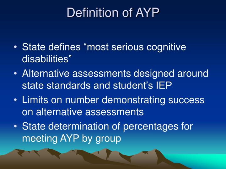 Definition of AYP