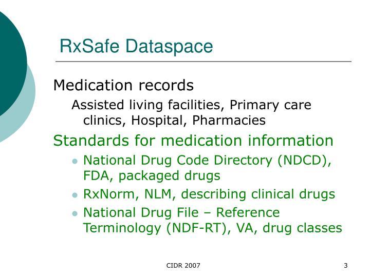 RxSafe Dataspace