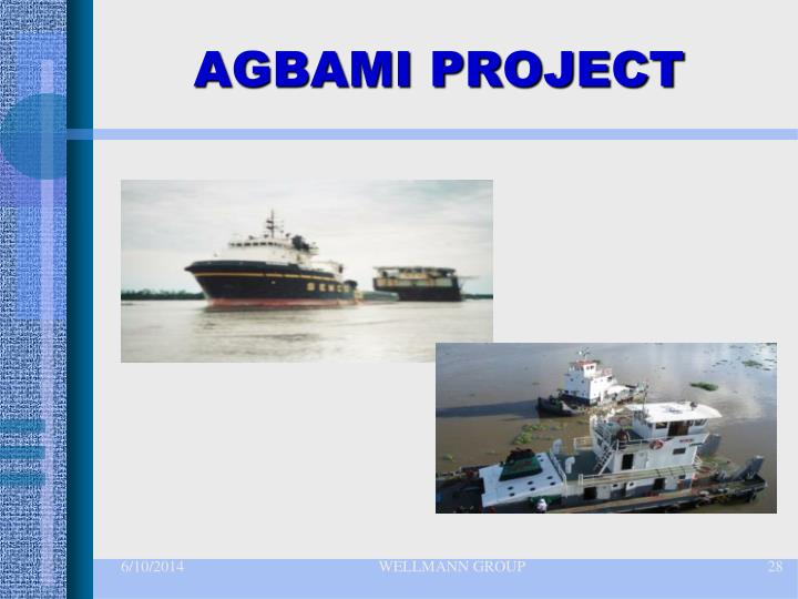 AGBAMI PROJECT