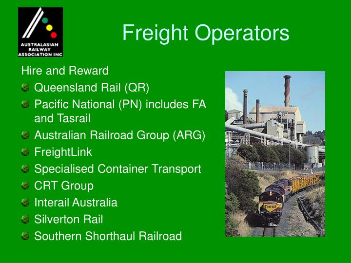 Freight Operators